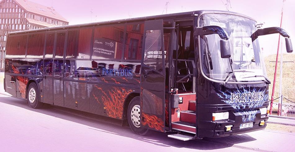 Черный Partybus